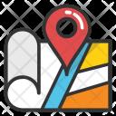 Navigation Map Icon