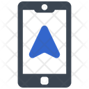 Navigation On Mobile Icon