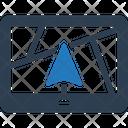 Navigation System Navigation System Icon