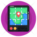 Gps Online Location Online Navigation Icon