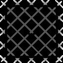 Navigational Arrow Up Icon