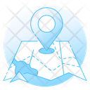 Navigational Map Map Navigation Location Icon