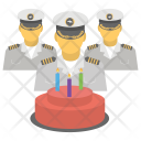 Navy Birthday Anniversary Icon