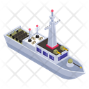Navy Destroyer Icon