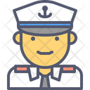 Navy Officer Navy Pilot Icon