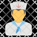 Navy Sailor Icon