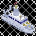 Navy Ship Icon