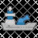 Navy Ship Military Ship Army Ship Icon