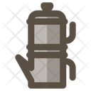 Neapolitan Flip Coffee Pot Icon