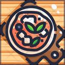 Neapolitan pizza Icon