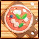 Neapolitan Pizza Italy Icon