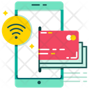 Near Field Communication Payment Onnline Payment Icon