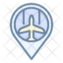 Nearby airport Icon