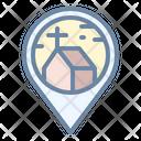 Church Location Pin Icon