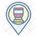 Train Station Pin Icon
