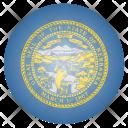 Nebraska Us State Icon