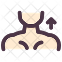 Neck Stretching Sport Icon