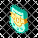 Neck Brace Isometric Icon