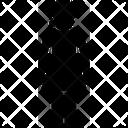 Broken Collar Neck Icon