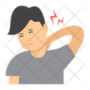 Neck Pain Back Pain Body Pain Icon
