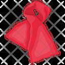 Neck Scarf Neckwear Round Stole Icon
