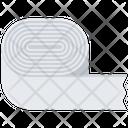 Paper Tape Neck Icon