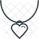 Necklace Heart Shape Icon