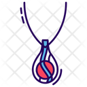 Necklace Ladies Ornaments Neck Jewellery Icon