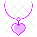 Necklace Heart Jewelry Icon