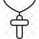 Accessory Christian Cross Icon