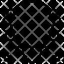 M Necklace Icon