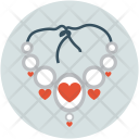 Necklace Chain Heart Icon