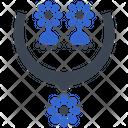 Necklace Jewelry Showcase Icon