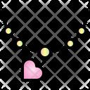 Necklace Valentine Heart Icon