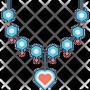 Necklace Jewellery Pendant Icon