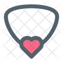 Necklace Love Heart Icon