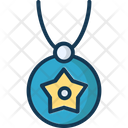Necklace Star Shape Girlish Icon