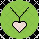 Necklace Heart Pendant Icon