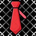 Fashion Necktie Tie Necktie Icon