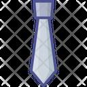 Fashion Necktie Neckwear Icon