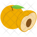 Peach Nectarine Fruit Icon