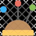 Pincushion Needles Common Icon