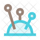 Sew Sewing Needles Icon