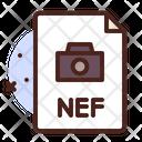 Nef File Photo File Nef Document Icon