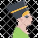 Nefertiti Country Queen Icon