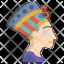 Nefertiti Bust Icon
