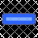 Negative Minus Interface Icon