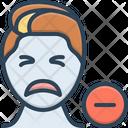 Negative Denial Disavowal Icon