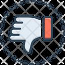 Negative Pessimistic Thumb Icon