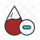 Negative Blood Icon
